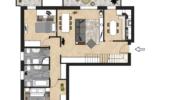Pianta Appartamento 7
