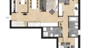 Pianta Appartamento 9