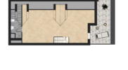 Pianta Mansarda Appartamento 9